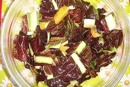 Radicchio-Orangen-Salat 4