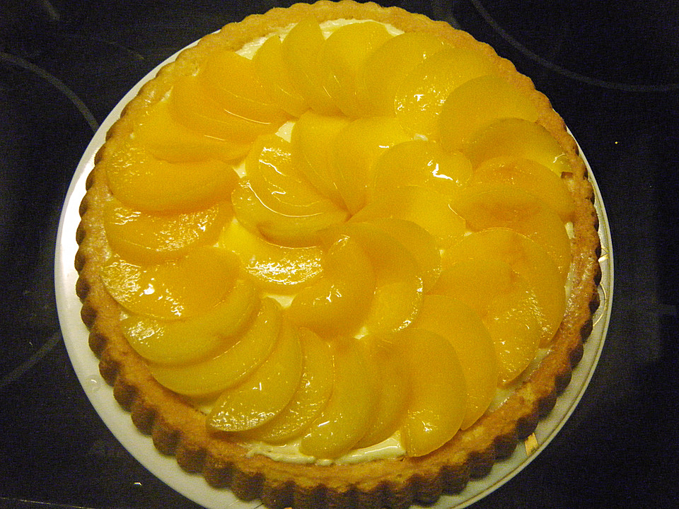 Pfirsich Vanille Kuchen