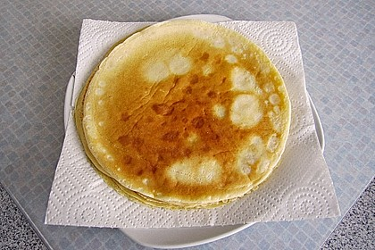 Pfannkuchen mit Obst-Quarkfüllung 3