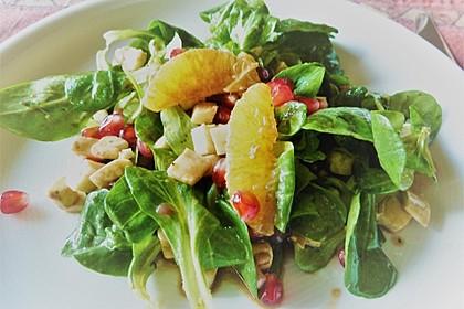 Fruchtiger Granatapfel-Salat 1