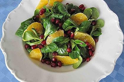 Fruchtiger Granatapfel-Salat