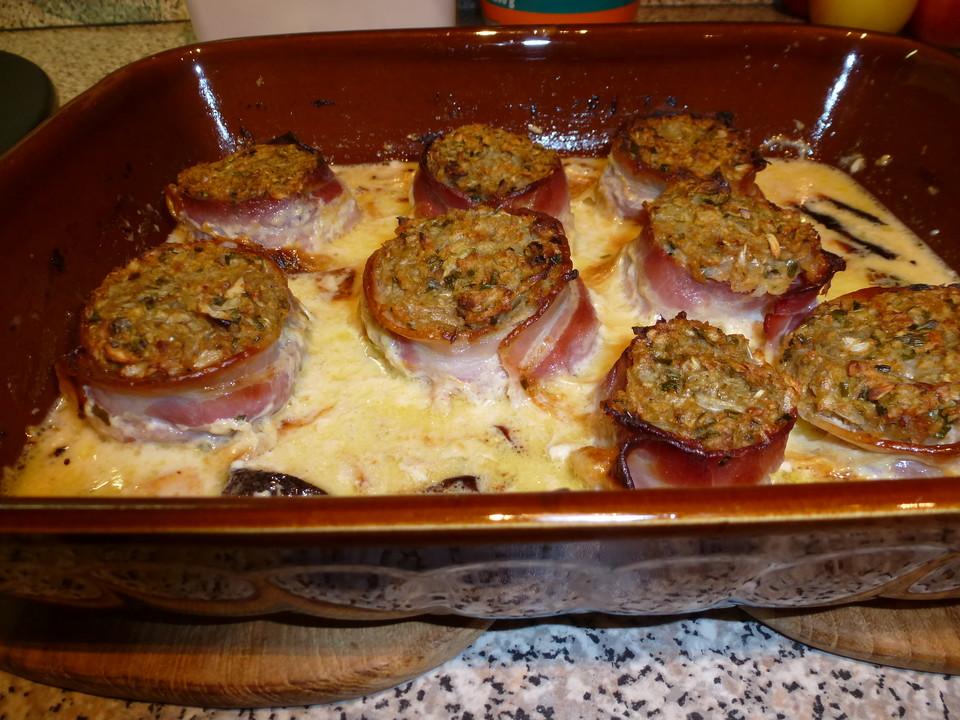 Zwiebel Knoblauch Medaillons Mit Bacon Von Teufelchen85 Chefkochde