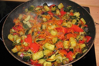 Gemüse-Pfanne, mediterran 3