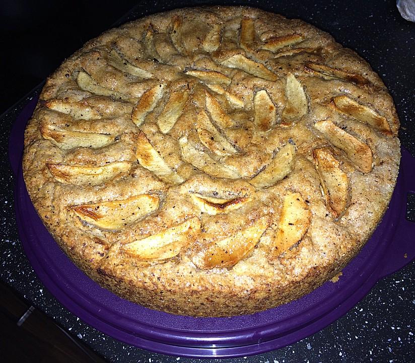Nuss Apfel Kuchen Vegan Von Britta87 Chefkoch De
