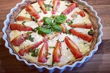 Tomaten-Mozzarella-Tarte (Bild)