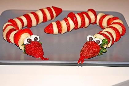 Erdbeer-Bananen-Schlange 2