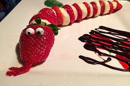Erdbeer-Bananen-Schlange 6