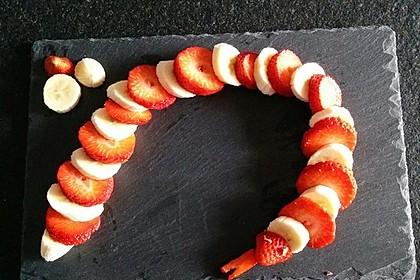 Erdbeer-Bananen-Schlange 14