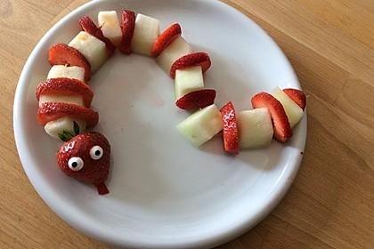 Erdbeer-Bananen-Schlange 11