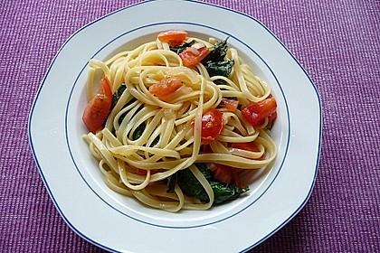 Tomaten-Spinat-Pasta 9