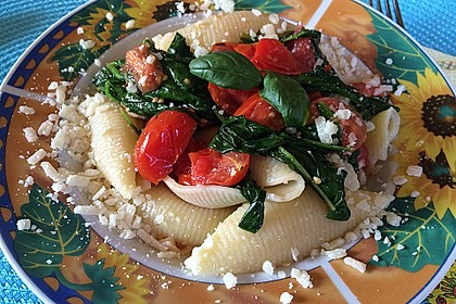 Tomaten-Spinat-Pasta 2