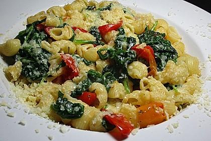Tomaten-Spinat-Pasta 13