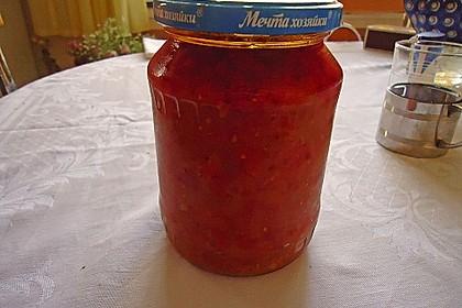 Usbekisches Auberginen-Püree - Baklazhannaja Ikra 4