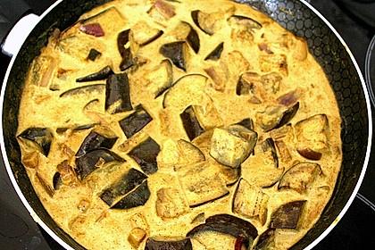 Schnelles Auberginen-Curry 1