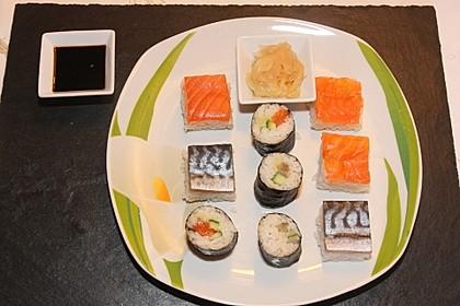 Sushi Variationen auf meine Art 7