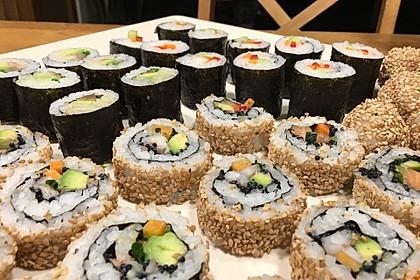 Sushi Variationen auf meine Art 1