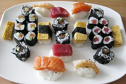 Sushi Variationen auf meine Art