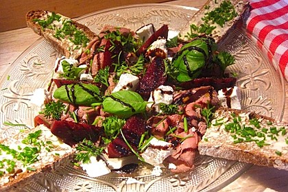 Frischer Rote Bete-Salat für die schnelle Küche