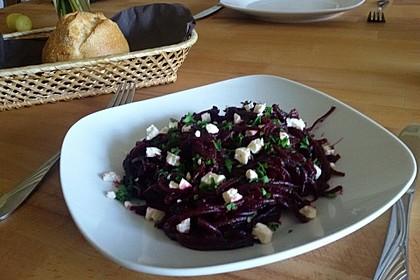 Frischer Rote Bete-Salat für die schnelle Küche 1