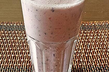 Erdbeer-Blaubeeren Smoothie 1