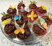 Schokoladensünde Cupcakes (Bild)