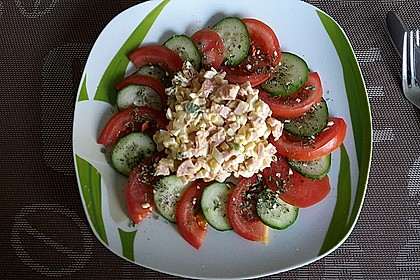 krümeltigers Wurst-Eiersalat 1