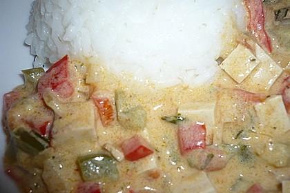 Schnelles und sahniges Wokgemüse mit geräuchertem Tofu 1