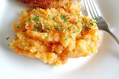 Möhren Kartoffel Stampf