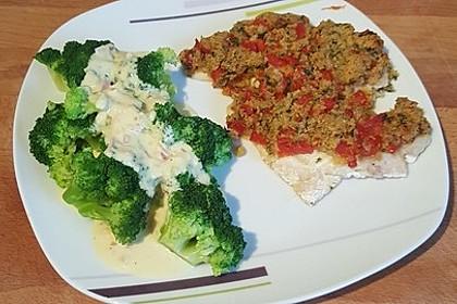 Brokkoli mit Parmesan-Senf-Sauce 18
