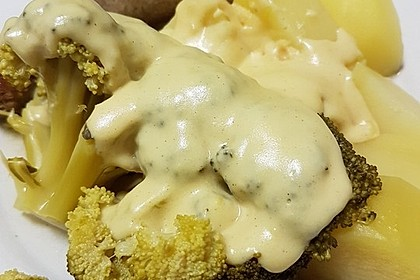 Brokkoli mit Parmesan-Senf-Sauce 11