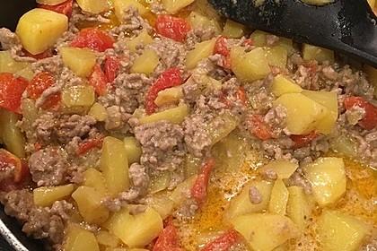 Kartoffel-Hackfleisch-Pfanne 4