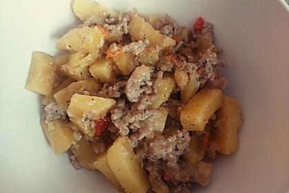 Kartoffel-Hackfleisch-Pfanne