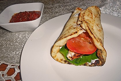 Würzig gefüllte Pita-Brote 2