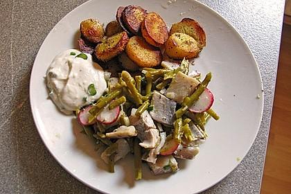 Bohnen-Matjes-Salat mit Kümmelkartoffeln 2