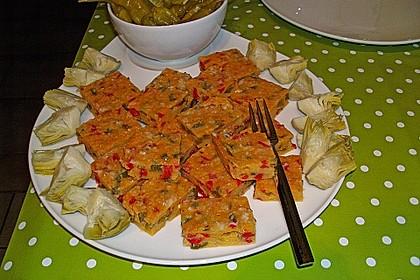 Gemüse-Polenta Würfel 1
