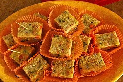 Gemüse-Polenta Würfel 4