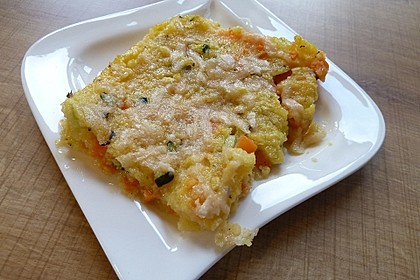 Gemüse-Polenta Würfel 5