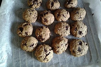Schoko-Cookies vegan 20