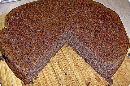 Apfel-Mohn-Hirse Kuchen (Bild)