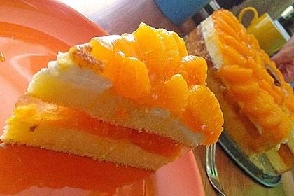 Multivitamin-Torte mit Mandarinen