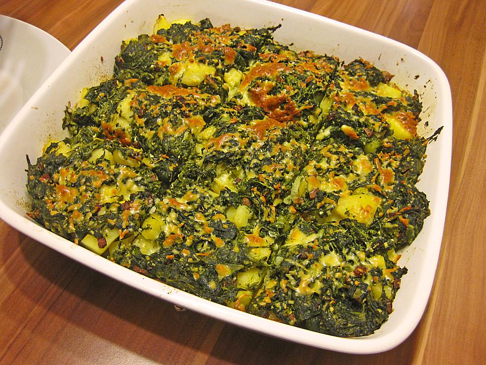 Rezepte Leichte Sommerküche Kalorienarm : Vegetarisches leichtes kartoffel spinat gratin von souldream chefkoch