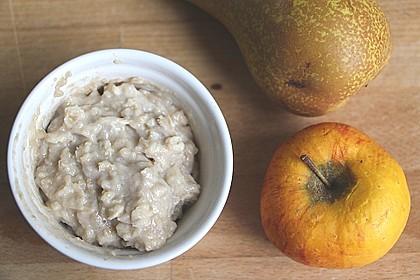 Babybrei für zwischendurch - Obst/Getreide