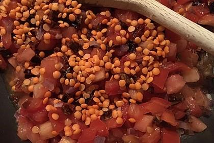Veganer Linsen-Tomaten-Aufstrich 7