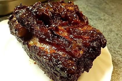 Köstliche BBQ Spareribs für Smoker und Backofen mit Soße und Gewürzmischung 25