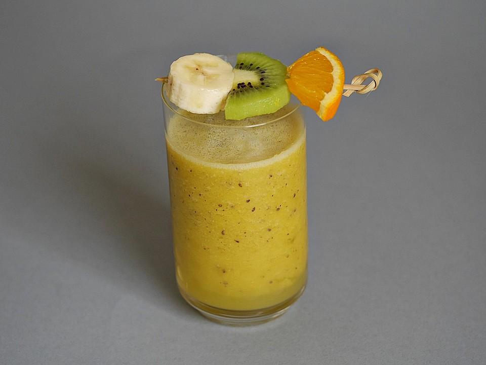Bananen Kiwi Orangen Smoothie Von Madrich38 Chefkoch De