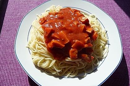 Spaghetti nach Mamas Art