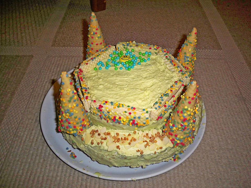 Prinzessinnenschloss Geburtstags Kuchen Von Hihi Chefkoch De