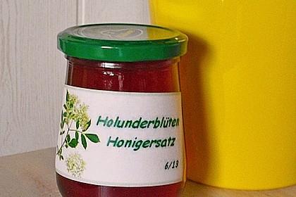 Holunderblüten-Honigersatz