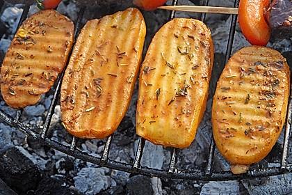 Marinierte Riffelsteaklettes von der Kartoffel für den Grill 1