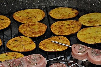 Marinierte Riffelsteaklettes von der Kartoffel für den Grill 2